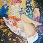 Il-pittore-e-la-modella-Gustave-Klimt